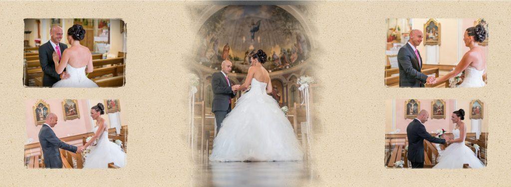 Exemple d'un album de mariage Graphistudio par JLP Photographe de mariage